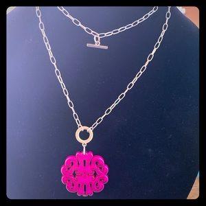Bangle necklace